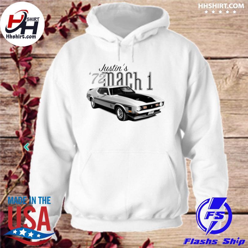1972 mustang mach 1 hoodie