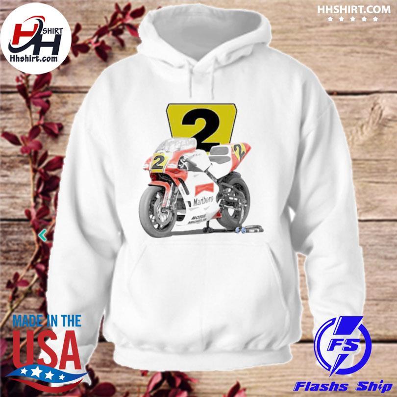 1990 wayne rainey marlboro roberts yzr500 racing hoodie
