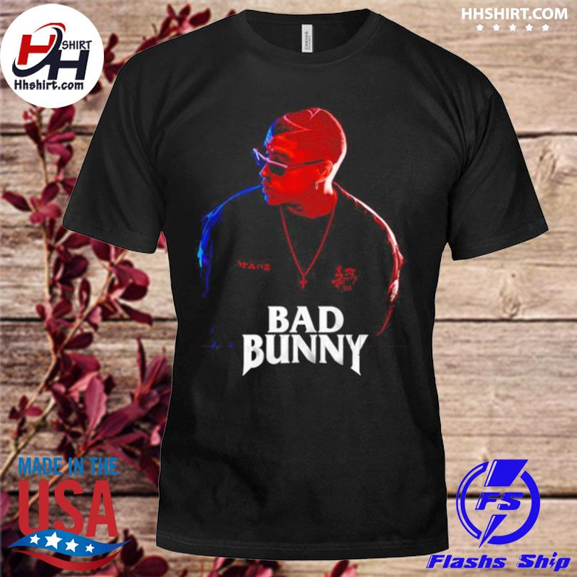 Bad bunny singer shirt