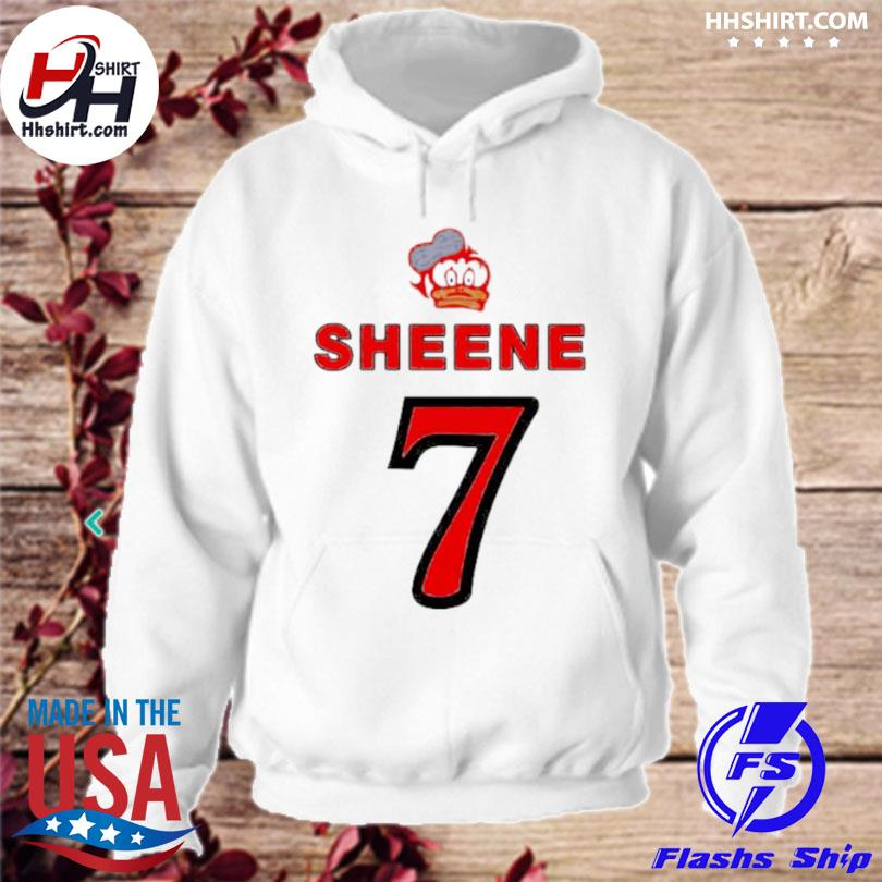 Barry sheene duck 7 logo hoodie
