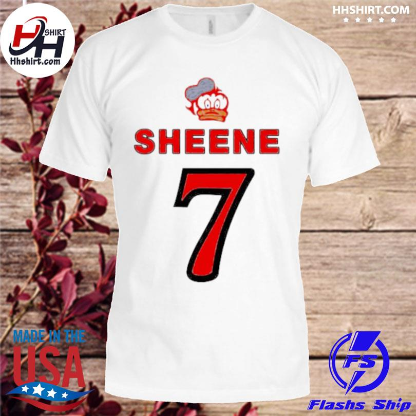 Barry sheene duck 7 logo shirt