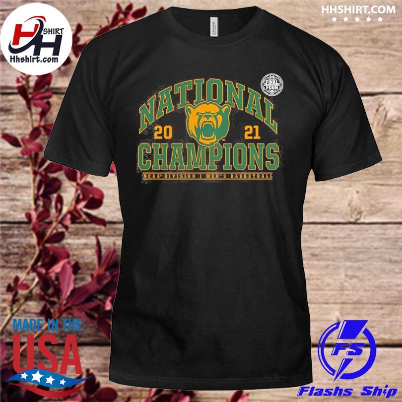 Basketball national champions baylor bears 2021 shirt