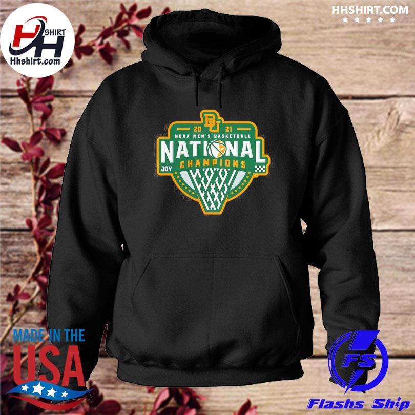 Baylor bears 2021 ncaa basketball national champions hoodie