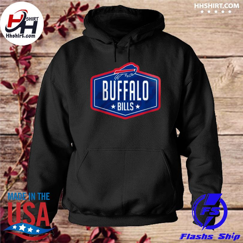 Buffalo bills new era 2021 nfl draft big and tall hook hoodie