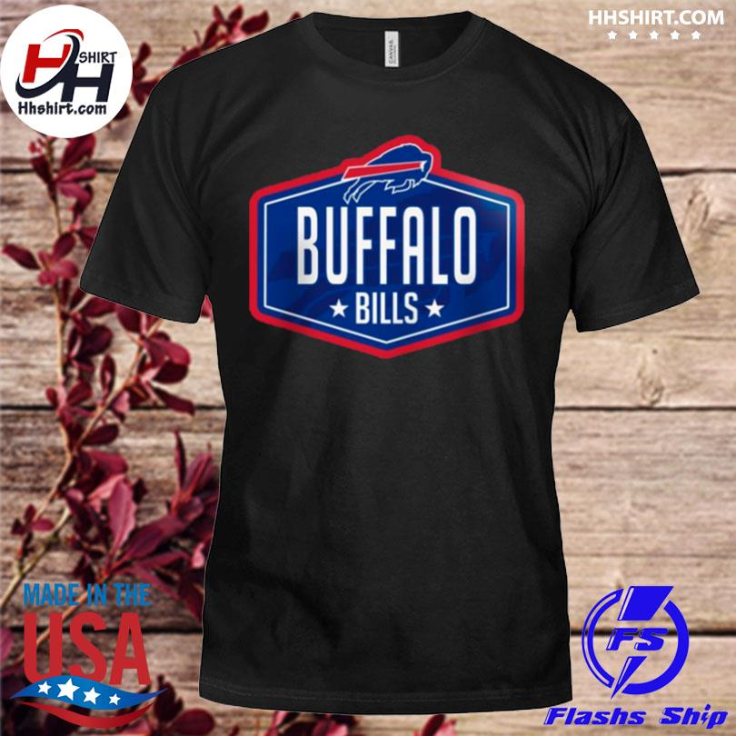Buffalo bills new era 2021 nfl draft big and tall hook shirt
