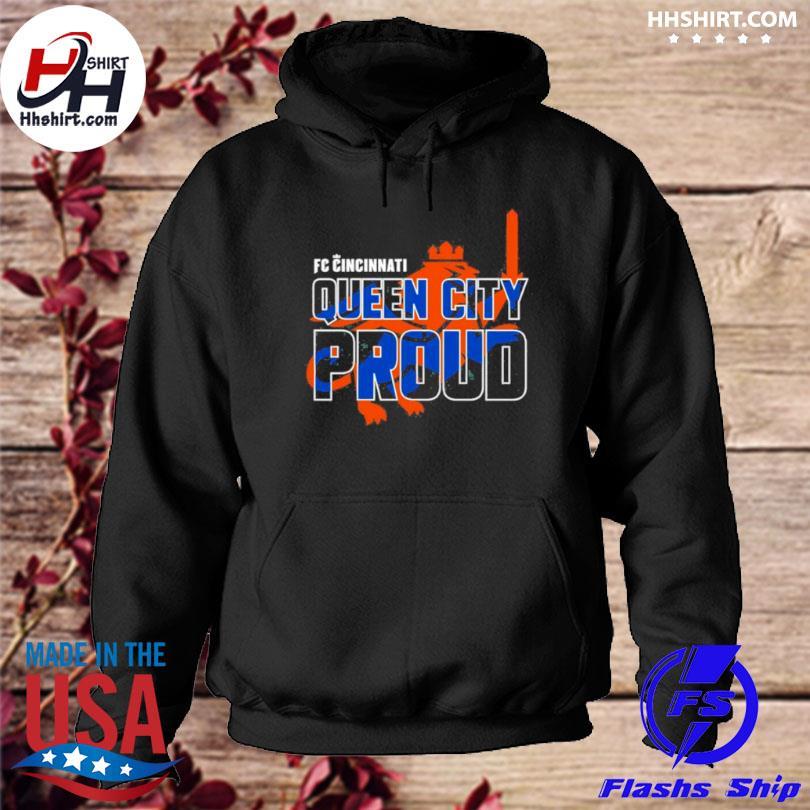 Fc cincinnati queen city pride hoodie