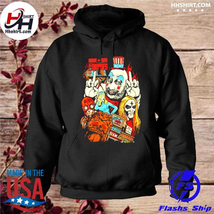 House of 1000 corpses dare you enter zombie hoodie