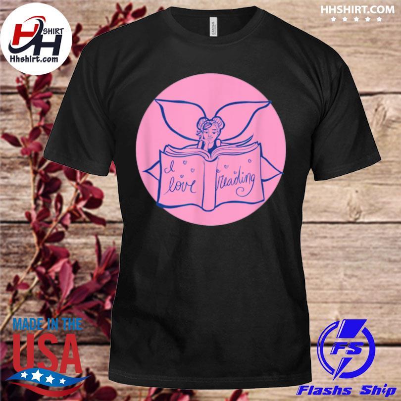 I love reading fairy art shirt