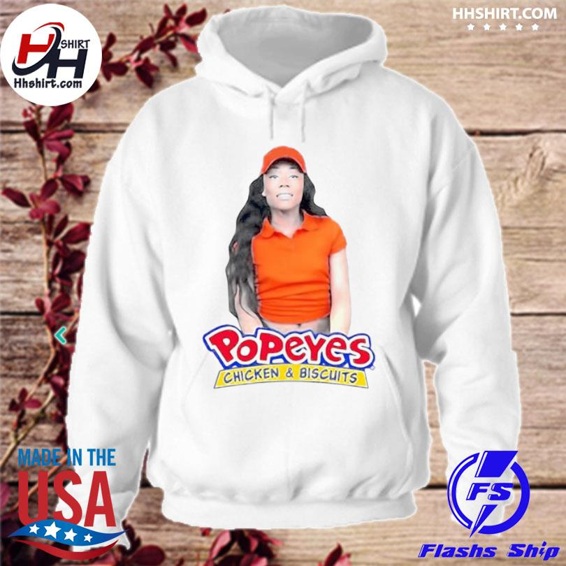 Jayla foxx popeyes chicken and biscuits hoodie