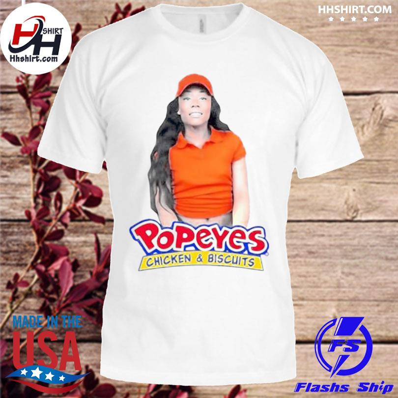Jayla foxx popeyes chicken and biscuits shirt
