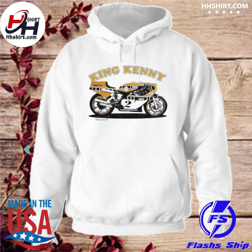 King kenny world champion motorcycle hoodie