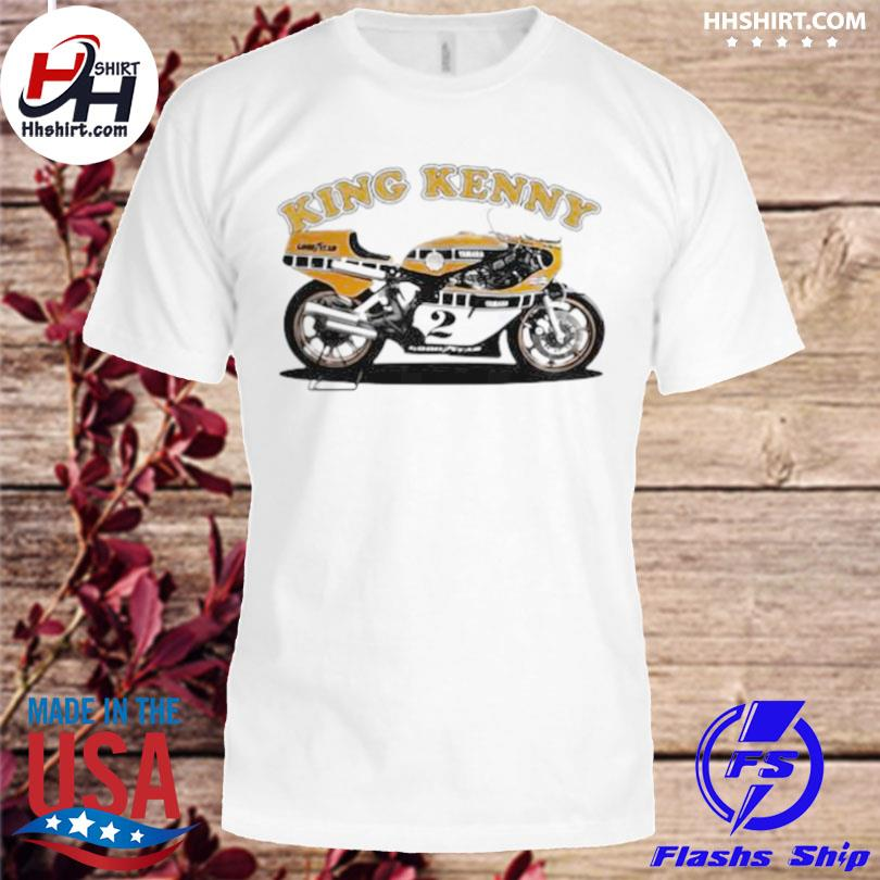 King kenny world champion motorcycle shirt