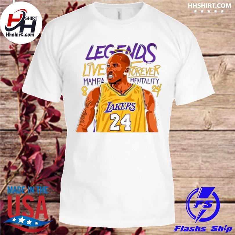Kobe bryant forever mamba shirt