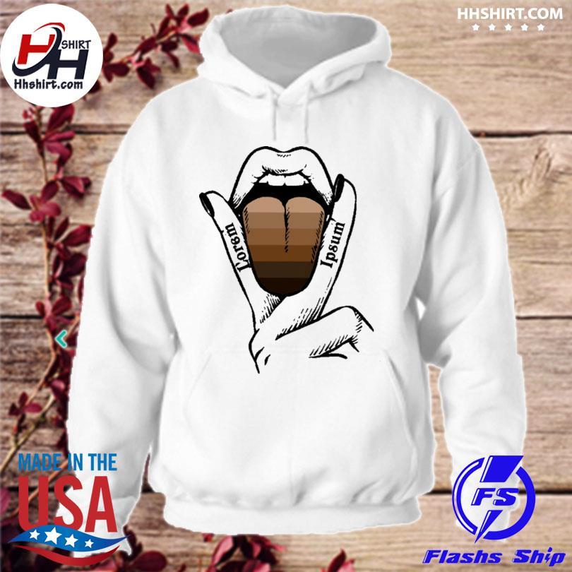 LGBT Lorem Ipsum hoodie