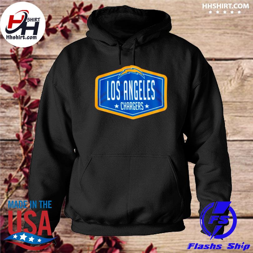 Los angeles chargers new era 2021 nfl draft hook hoodie