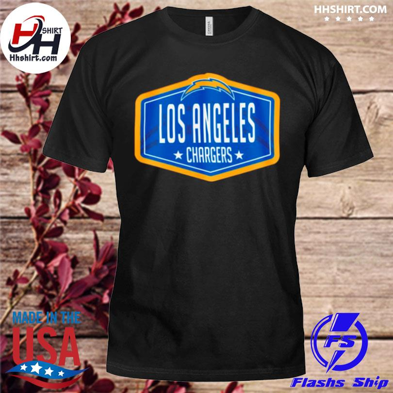 Los angeles chargers new era 2021 nfl draft hook shirt