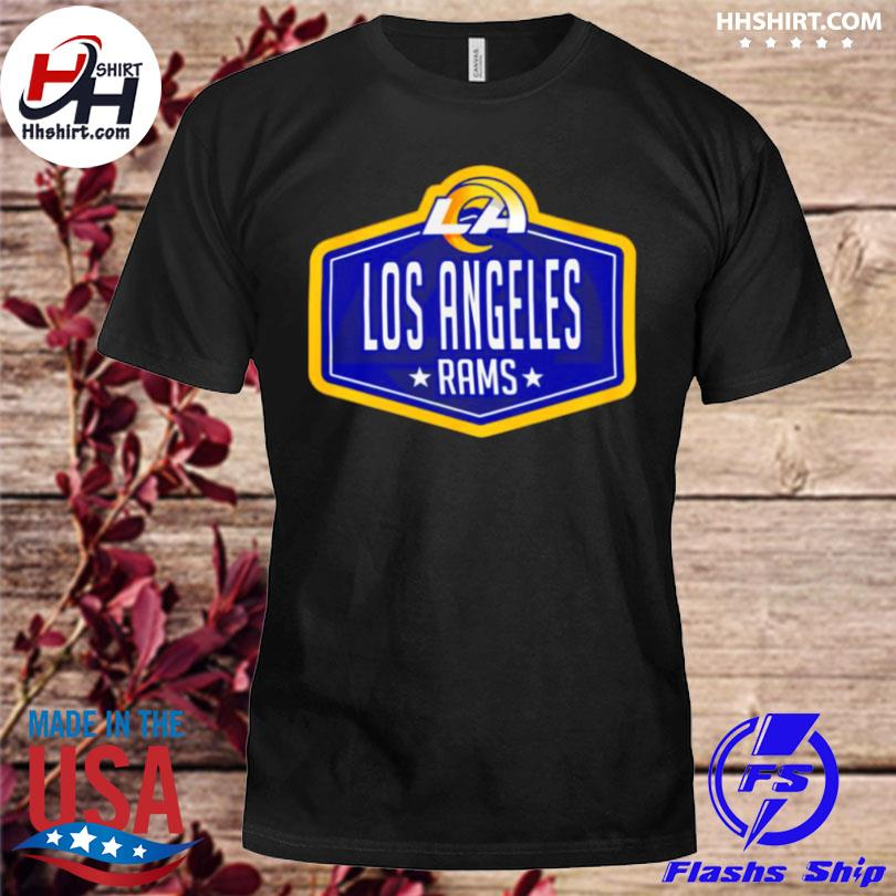 Los angeles rams new era 2021 nfl draft hook shirt