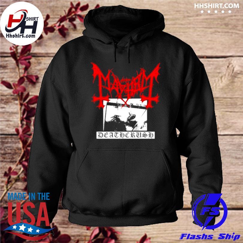 Mayhem deathcrush hoodie