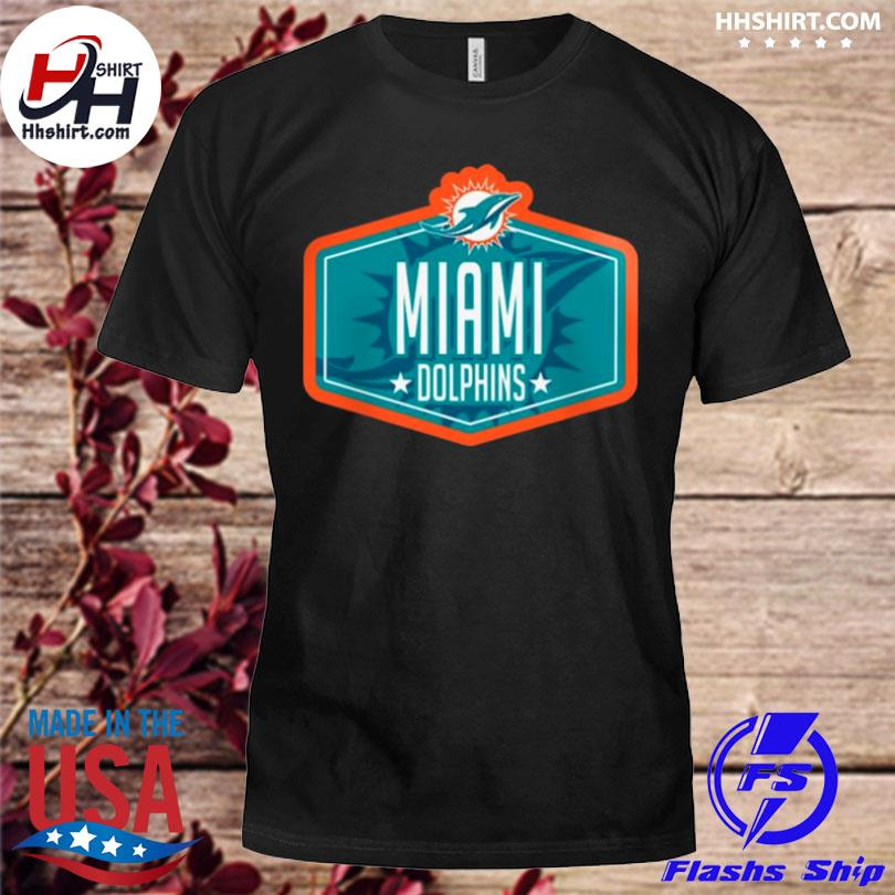 Miami dolphins new era 2021 nfl draft big and tall hook shirt