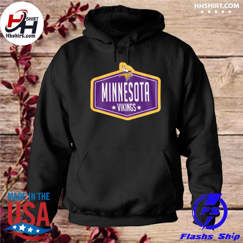 Minnesota vikings new era 2021 nfl draft hook hoodie