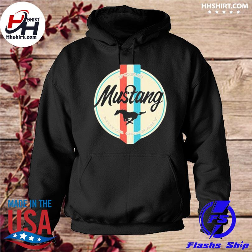 Mustang 3 ford motor company hoodie