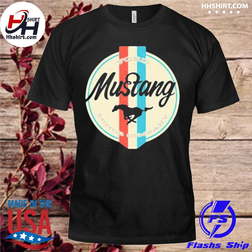 Mustang 3 ford motor company shirt