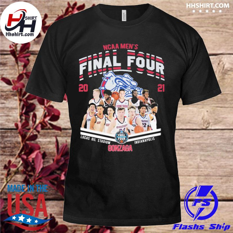 Ncaa Men's final four 2021 Gonzaga shirt