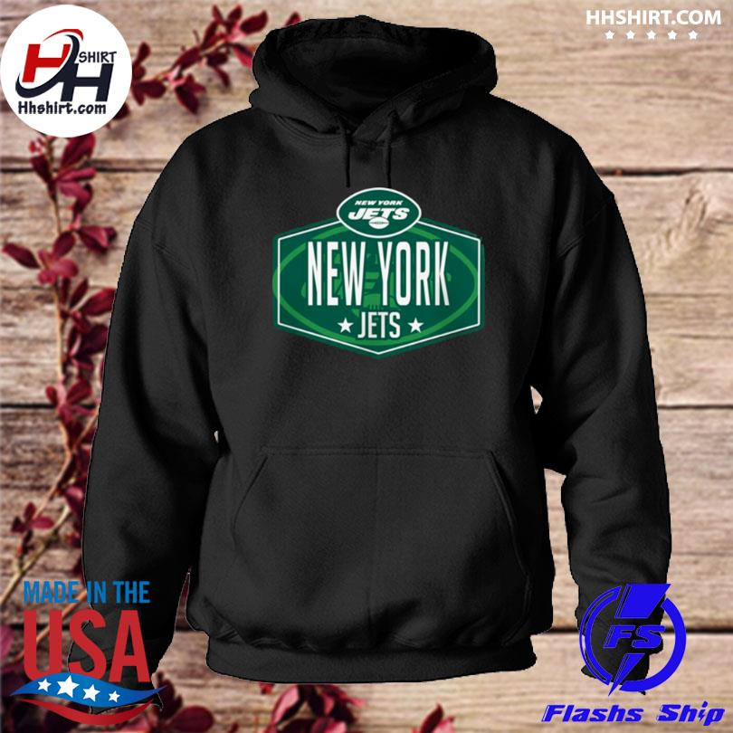 New york jets new era 2021 nfl draft big and tall hook hoodie