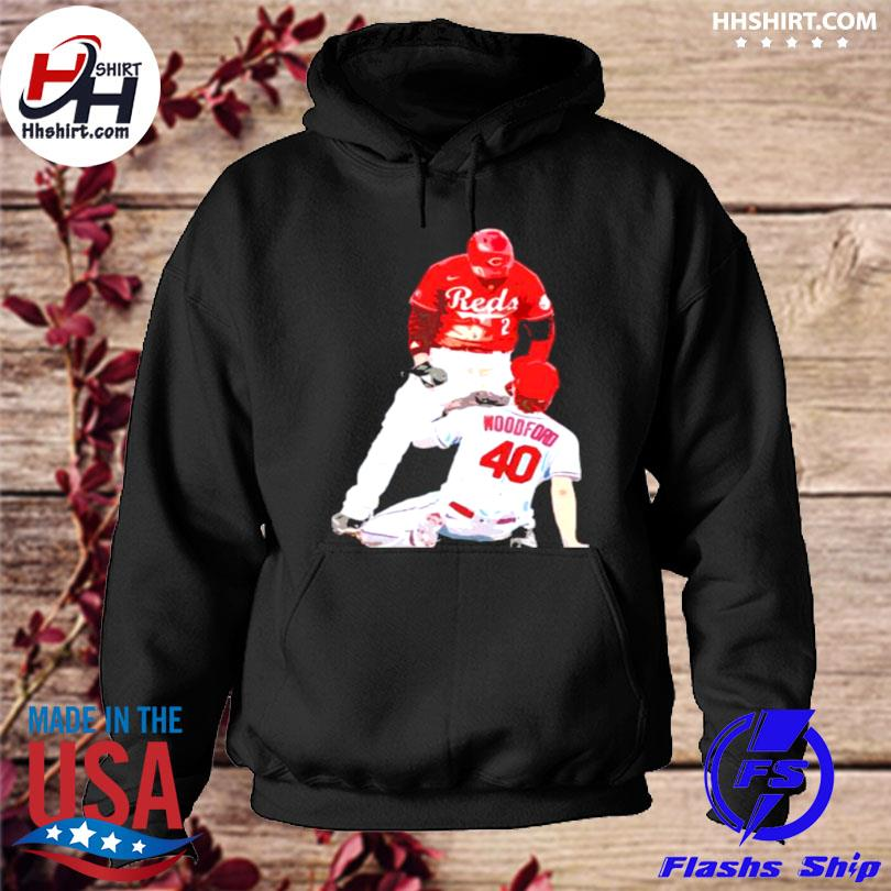 Nick castellanos reds and jake woodford hoodie