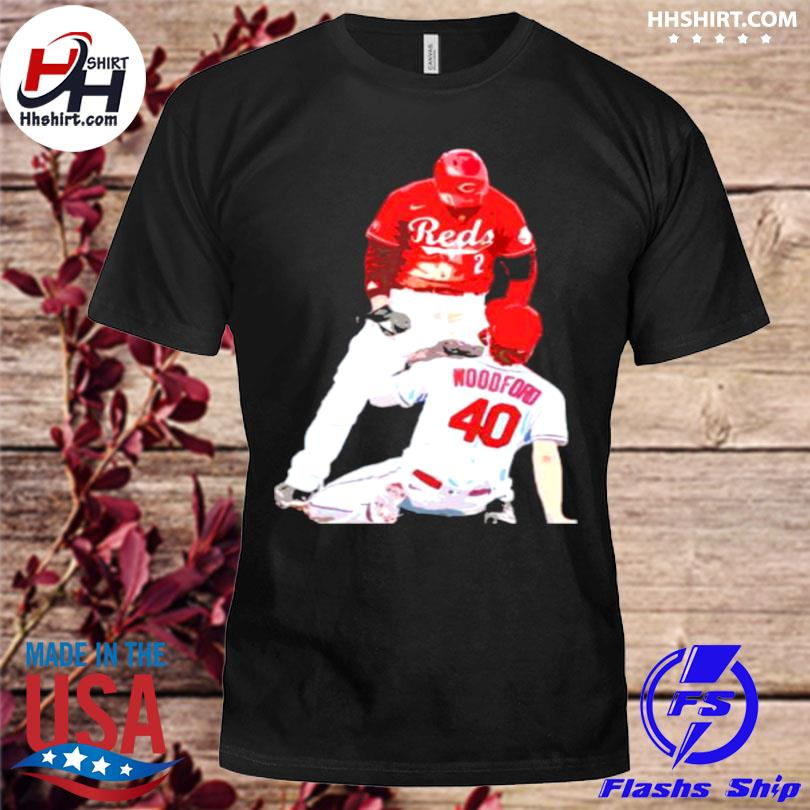 Nick castellanos reds and jake woodford shirt