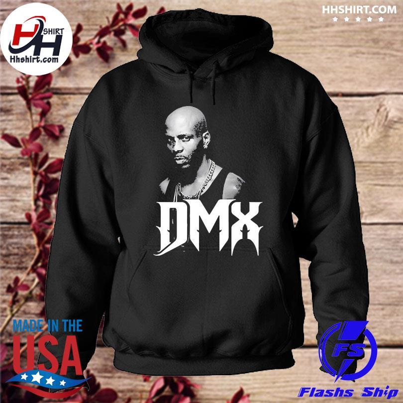 Official 1970 2021 Dmx mens black hoodie