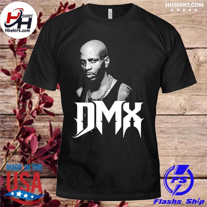 Official 1970 2021 Dmx mens black shirt