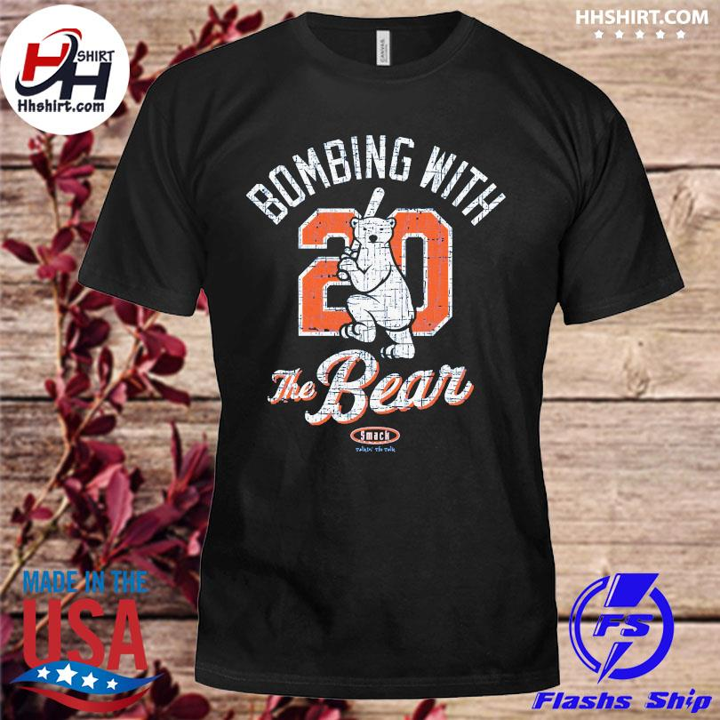 Official Bombing with 20 the bear smack shirt