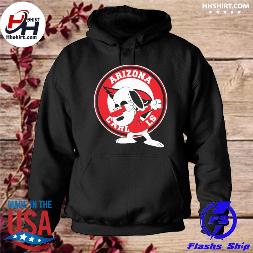 Official Dabbing Snoopy Arizona Cardinals hoodie