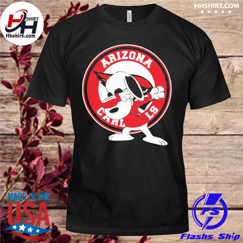 Official Dabbing Snoopy Arizona Cardinals shirt