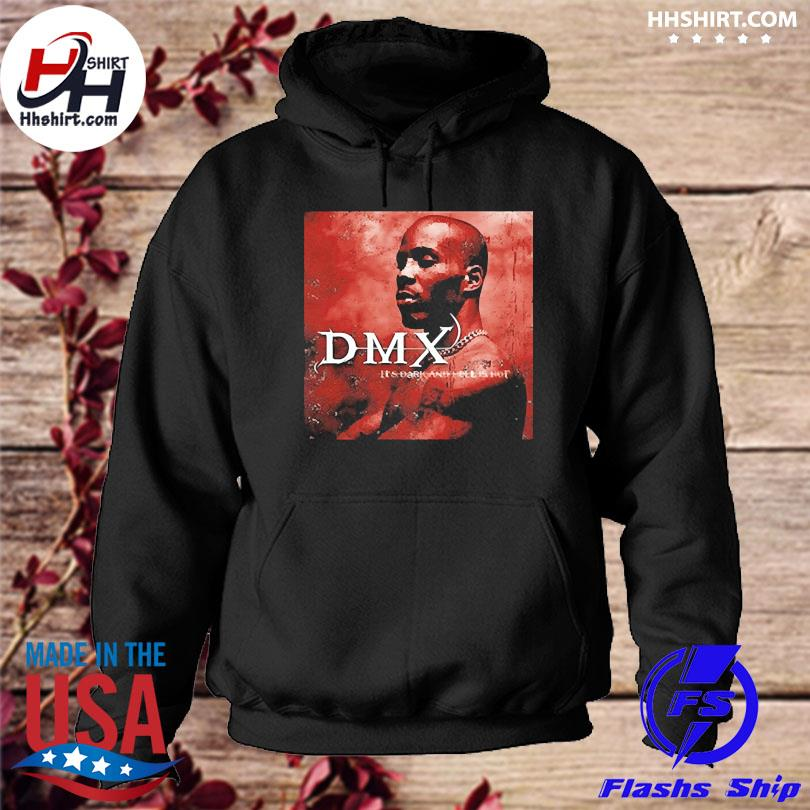 Official Dark and hell is hot dmx hoodie