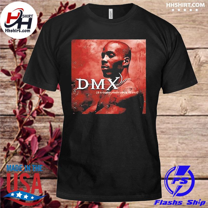 Official Dark and hell is hot dmx shirt
