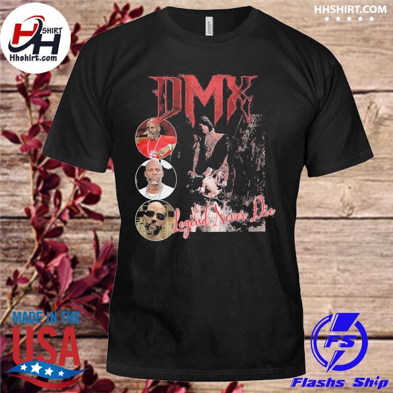 Official Dmx rapper unisex legend never die shirt