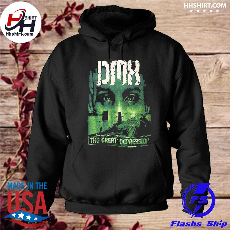 Official Dmx the great depression t-s hoodie