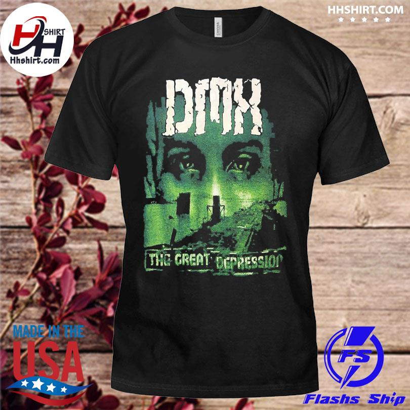 Official Dmx the great depression t-shirt