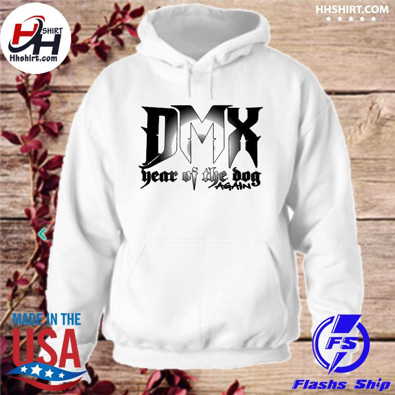 Official Dmx year of the dog again 2021 hoodie