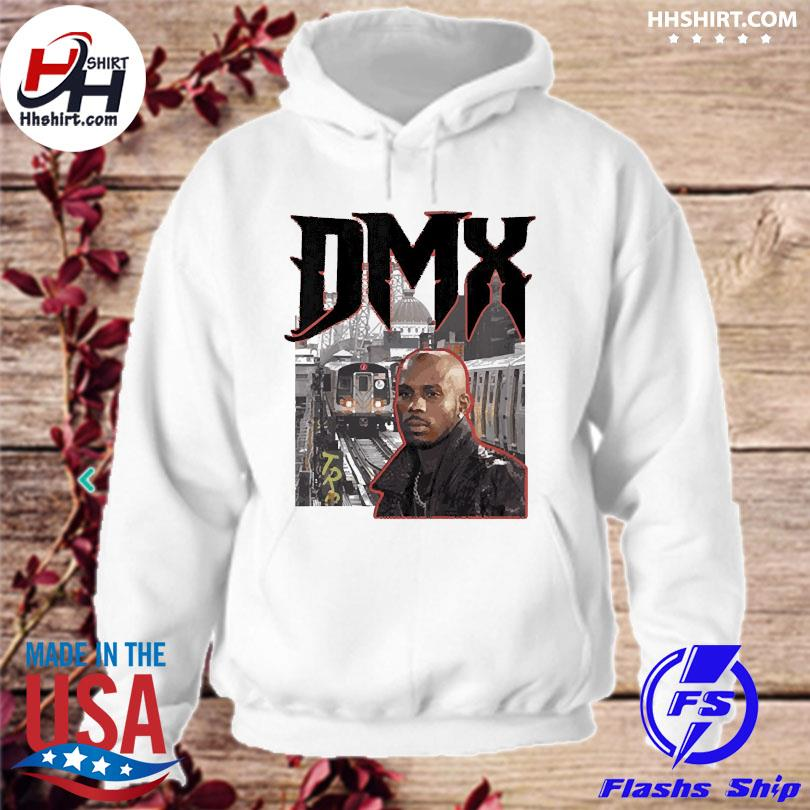 Official Forever dmx new york throwback train station hoodie