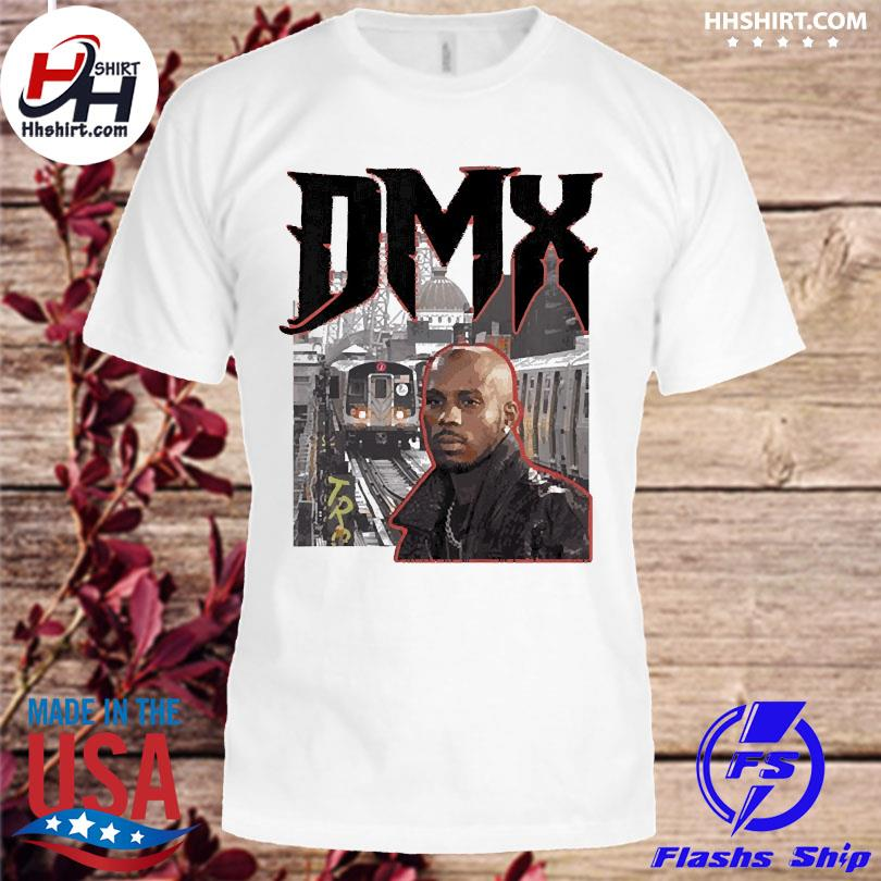 Official Forever dmx new york throwback train station shirt