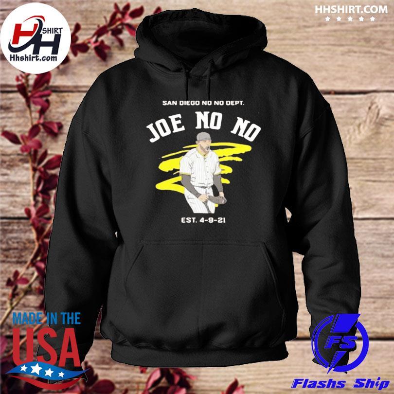 Official Joe no no est 4-9-21 hoodie