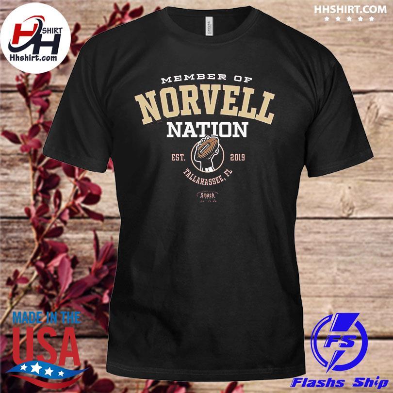 Official Member of novell nation est 2019 tallahassee fl shirt
