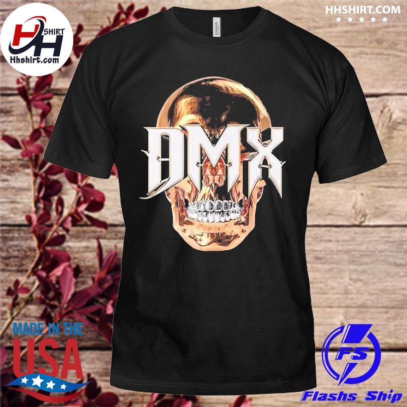 Official Rip Dmx skull vintage 2021 shirt