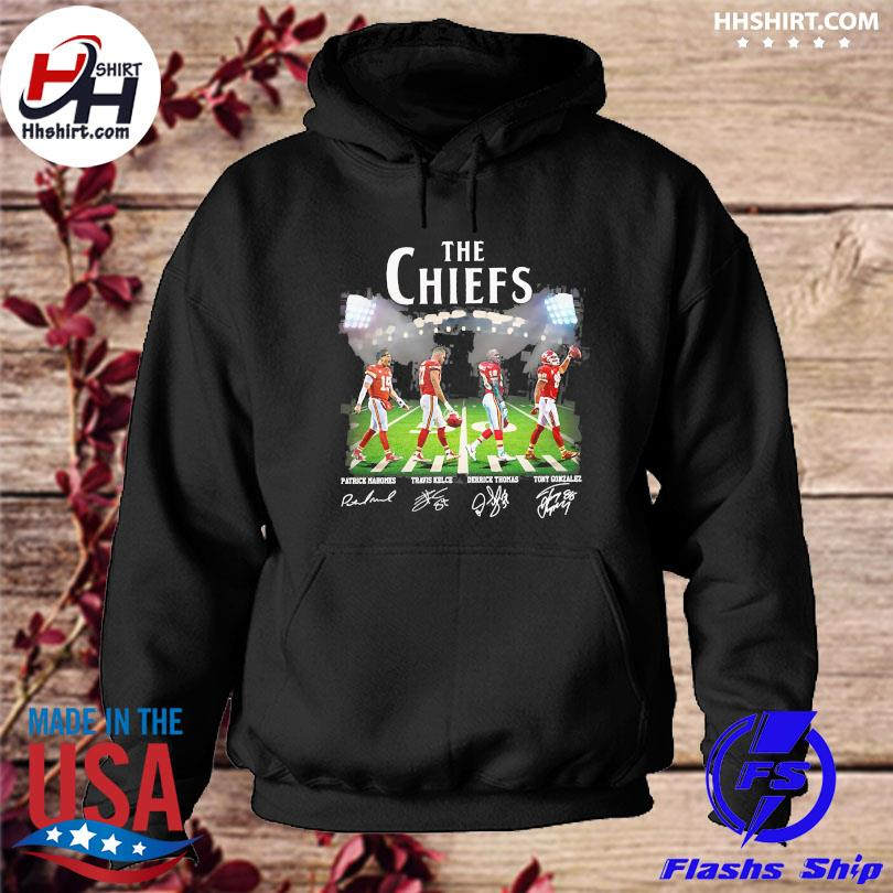 Official The Chiefs Abbey Road signatures hoodie