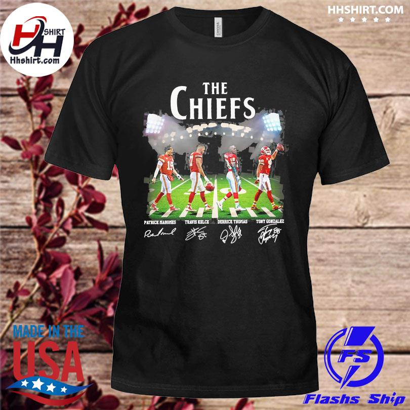 Official The Chiefs Abbey Road signatures shirt