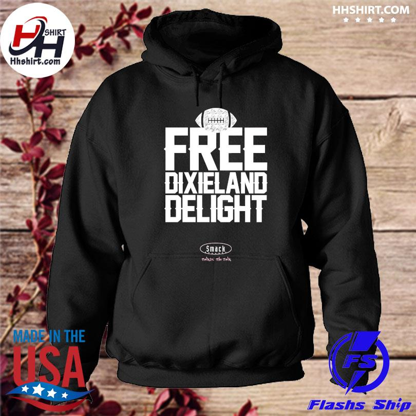 Official Unlicensed alabama gear free dixieland delight hoodie