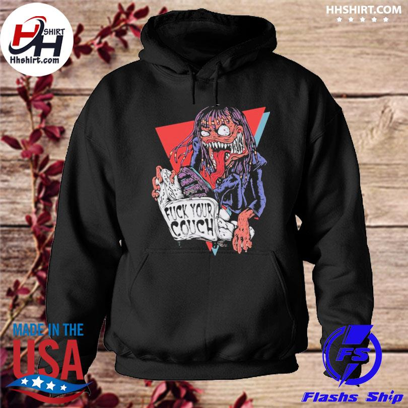 Rick James fuck your couch t-s hoodie